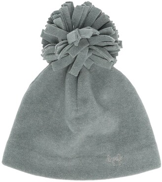 Il Gufo Pompom-Embellished Knitted Beanie