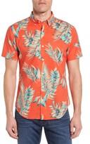 Bonobos Men's Slim Fit Short Sleeve Tropical Print Sport Shirt