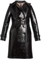 Stella McCartney Michaela double-breasted coated trench coat