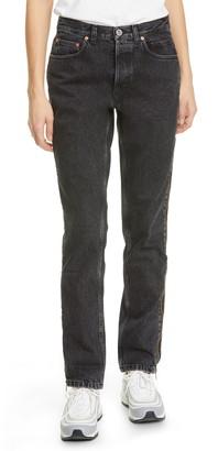 Vetements Stripper Side Zip Jeans