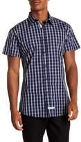 English Laundry Plaid Woven Regular Fit Shirt