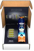 Gillette Fusion ProShield Bundle with 4 Razor Blade Refills + 1 Ocean Breeze Shave Gel