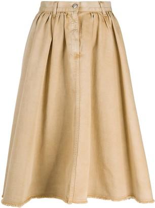 Golden Goose Mid-Length Pleated Skirt