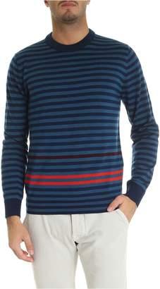 Stripe Crew Neck Pullover