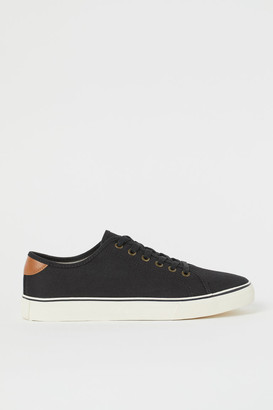 H&M Canvas Sneakers - Black