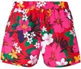 Ami Alexandre Mattiussi floral print swim shorts