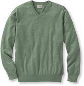 L.L. Bean Cotton/Cashmere Sweater, V-Neck