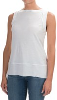 Lilla P Seamed Shell Camisole - Sleeveless (For Women)