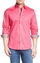 Stone Rose Trim Fit Sport Shirt
