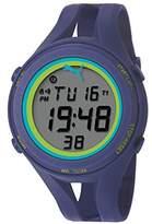Puma Air Iii Unisex Digital Watch with LCD Dial Digital Display and Blue PU Strap PU911171004