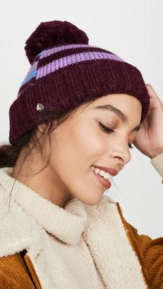 Kate Spade Heritage Stripe Beanie Hat