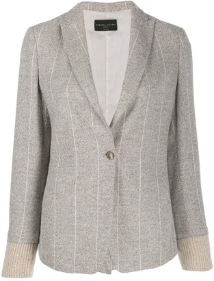 Fabiana Filippi Striped Blazer