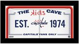 "Steiner Sports Washington Capitals 10"" x 20"" Kids Cave Sign"