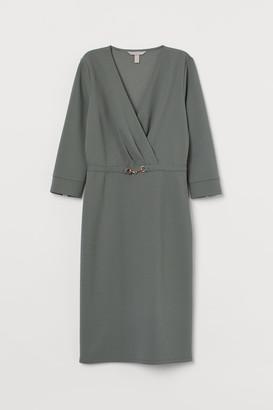 H&M Tailored jersey dress