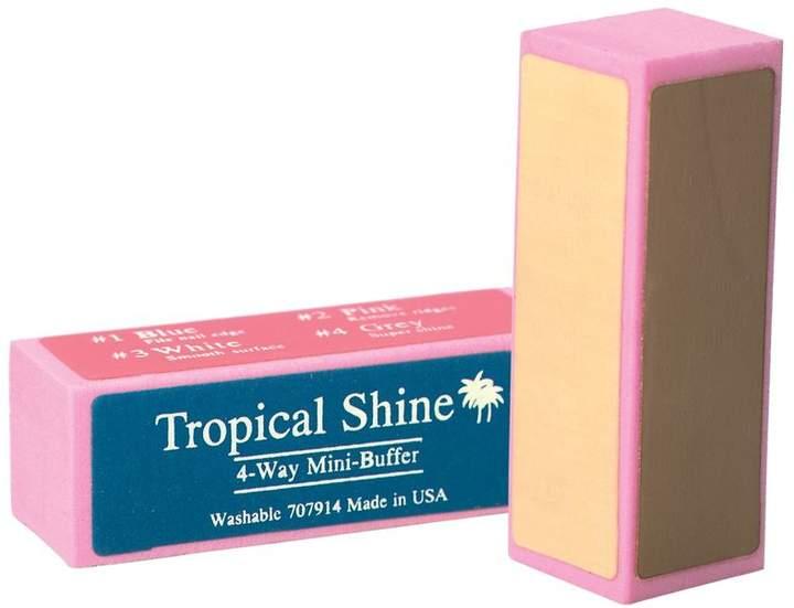 Tropical Shine 4-Way Mini Nail Buffer Block