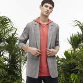 Lacoste Men's Fashion Show Seersucker Blazer