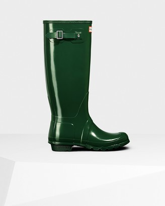 Hunter Women's Original Tall Gloss Wellington Boots