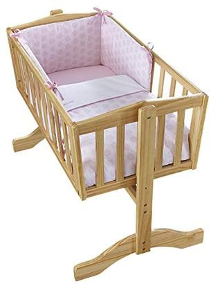 Clair De Lune Speckles Crib Set (Pink, 2-Piece)