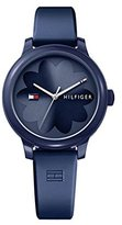 Tommy Hilfiger Women's 'EVERYDAY SPORT' Quartz Resin and Silicone Casual Watch, Color:Blue (Model: 1781775)