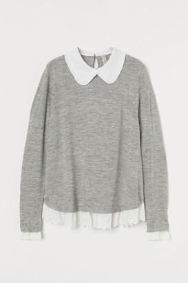 H&M Collar-detail jumper