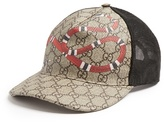 Gucci Snake-print Cap