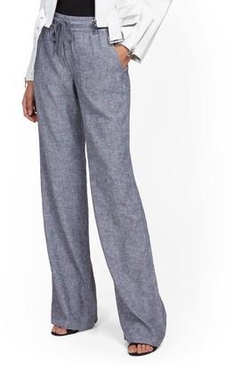 New York & Co. Linen Wide-Leg Pant