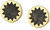 House Of Harlow Sunburst Button Stud Earrings