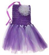 TRURENDI Baby Toddler Infants Sweet Cute Party Chiffon Tutu Dress Newborn (M ( 2T-5T ), )