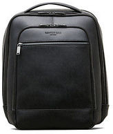 Kenneth Cole Saffiano Leather Double Compartment Backpack