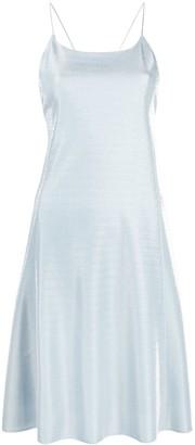 Emporio Armani Velvet-Effect Mini Dress