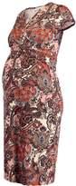 Anna Field MAMA Jersey dress brown/black