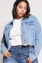 Forever 21 Plus Size Cropped Denim Jacket