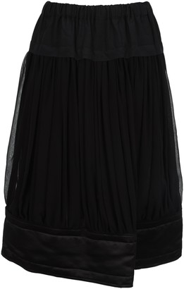 Comme des Garcons Tiered A-Line Skirt