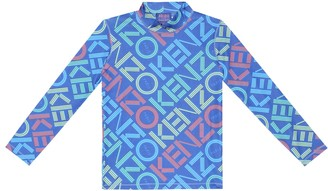 Kenzo Printed stretch-jersey top