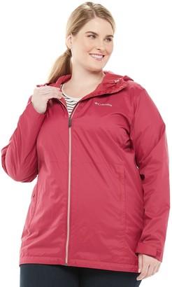 Columbia Plus Size Switchback Lined Rain Jacket