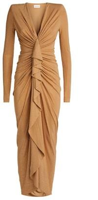 Alexandre Vauthier Crystal-Embellished Dress