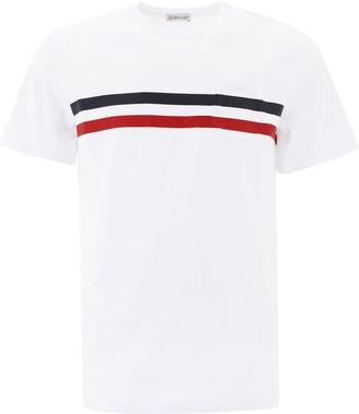 Moncler Stripe Detail T-Shirt