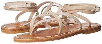 K. Jacques Zenobie Velours Sandal (Tejus Sable) Women's Sandals