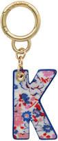 Cath Kidston Mews Ditsy Bag Charm/Key Ring Initial Charm K