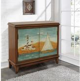 Pulaski Furniture Nautical Medium Brown 2-Door Chest