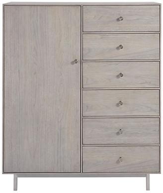One Kings Lane Tanner Tall Dresser - Mist Gray