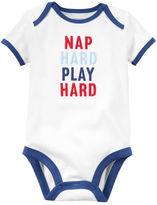 Carter's Nap Hard Play Hard Collectible Bodysuit