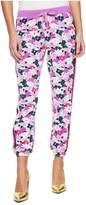 Juicy Couture Micro Terry Seaside Foral Capri Pant