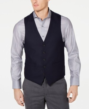 Kenneth Cole Reaction Men's Ready Flex Slim-Fit Performance Stretch Suit Vest