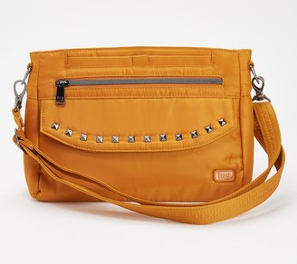 Lug RFID Crossbody with Stud Detail - Pacer 2