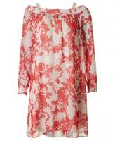 BOSS ORANGE Acarmy Floral Long Sleeved Dress