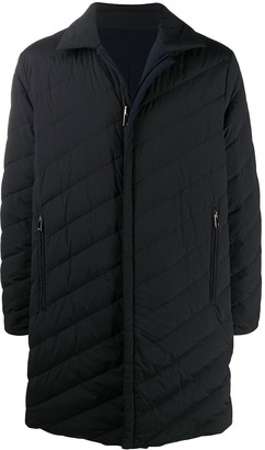 Theory Long Padded Down Coat