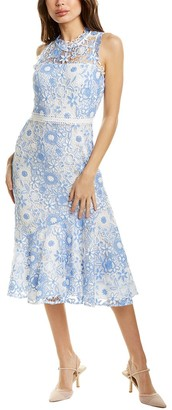 Shoshanna Anamaria Midi Dress