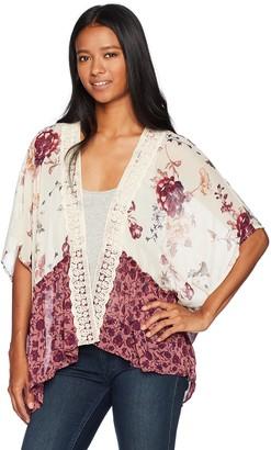 Jolt Women's Twin Printed Kimono