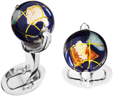 Jan Leslie Spinning Globe Cufflinks